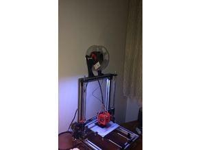 Filament Spool Holder for AL profiles (20x20,30x30) Universal