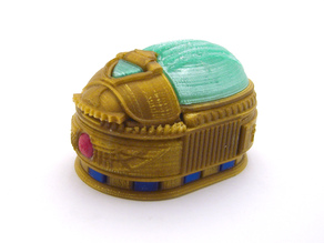 Scarab Beetle Box (with secret lock)