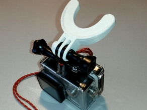 Mouth mount for GoPro
