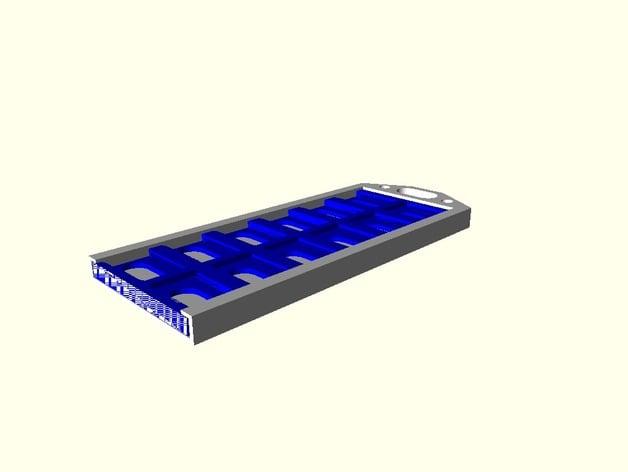 Flat holder 12 micro SD