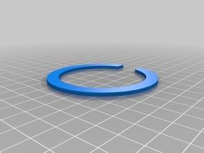 Neopixel Ring spacer