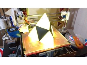 Triforce 3D Lamp