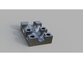 LM8LUU Bearing Block with M3 Nut trap
