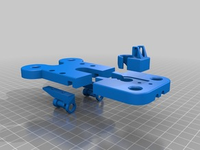Beefed Up Replicator Extruder and Feed Brackets
