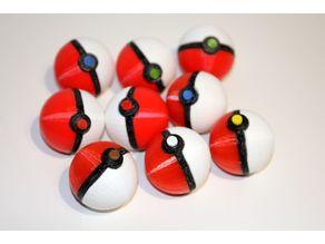 Pokemon Ball - easy to print and build