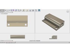 Wired Magnetic Alarm System Door Window Sensor shell