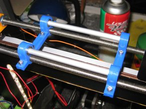 Customiser: Filament reel stand on top rods