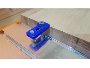 CNC Clamp M6 with step