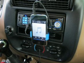 iPhone Bracket for My Pickup Truck