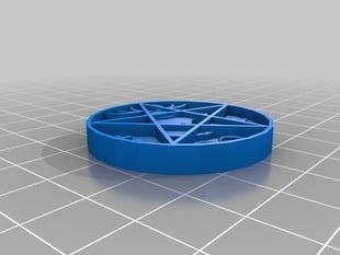 Cernunnos hex infinity pendant