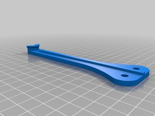 Lulzbot Feed Tube Support