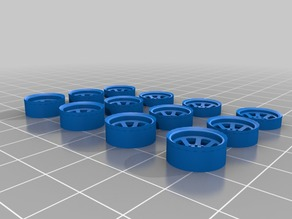 12 mm Wheel Insert sets