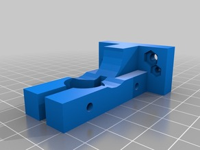 Extruder mount for i3 mk7 direct drive.