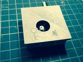 QRP CW Morse Code Pixie v3 Transciever Enclosure