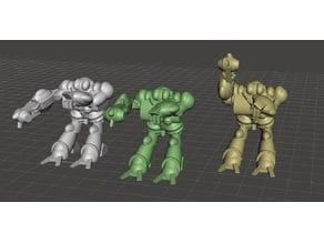 Robotech Masters Nous' Dohl Legionnaire Blue Bioroid set2 (3 units)