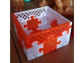 Puzzle Basket