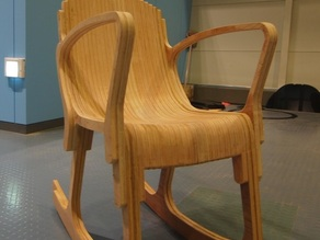 Layer Rocker Chair