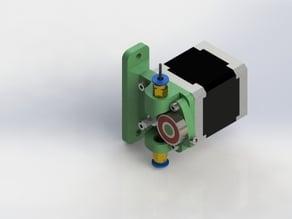 V/T-slot bowden extruder