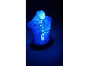 Male Body Lamp