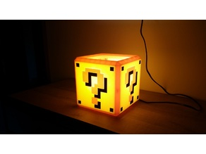 Mario Bros QuestionBox Lamp
