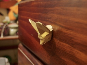 Fennec Fox Head Drawer/Cupboard Handle