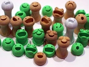 Friends on Facehook - Fridge magnets / hooks / hangers