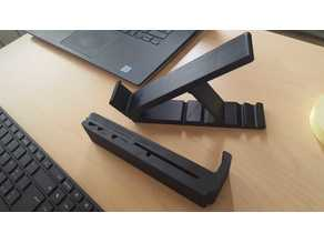 foldable notebook stand one piece print