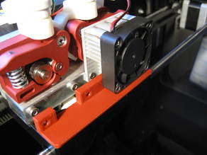 Rep 2x 2-Part Extruder Assembly