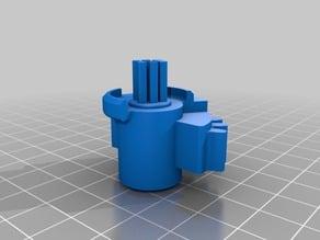 Gear for VW re-circulator/door flap motor