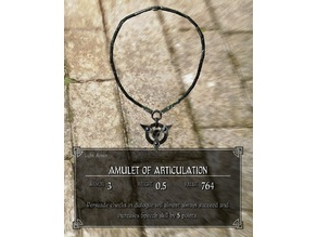 Skyrim Amulet of Articulation