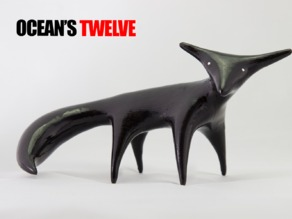 Nightfox Onyx Figurine - Ocean's Twelve