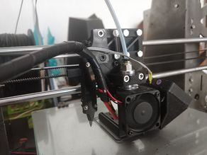 Anet A8 X carriage for E3D V6