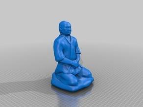 Meditating master