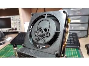 80mm Fan Skull grill