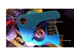 Replicator 2X Extruder Upgrade for Flexible Filament