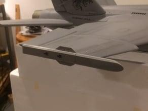 FMS FA-18 wingtip missile rail