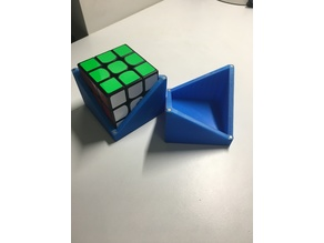 Rubik's cube storage box with magnets