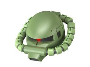 The Gundam - MS-06 Zaku