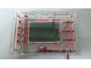 Laser cutted acrylic case for DSO138 oscilloscope