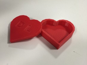 Heart Box Tinkercad Tutorial