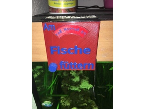 Aquarium reminder