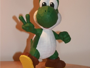 Yoshi Trophy with custom supports
