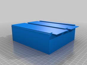 Two Section Box (Lid too!)
