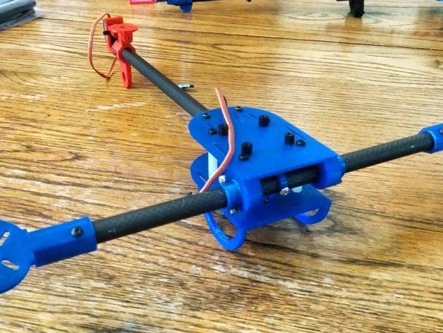 Excelsior Bravo - Tilt-rotor Tricopter v2.0 by phreakmonkey ...
