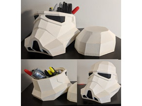 Low Poly Trooper Container