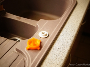 Sink handle for bathroom and kitchen