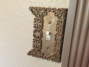 Victorian Light Switch Cover