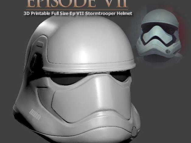 Wearable Episode VII StormTrooper Helmet By Geoffro