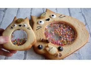 Totoro Window Cookie