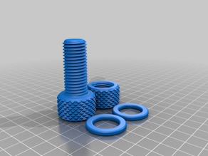 M16x2 Bolts and Nuts